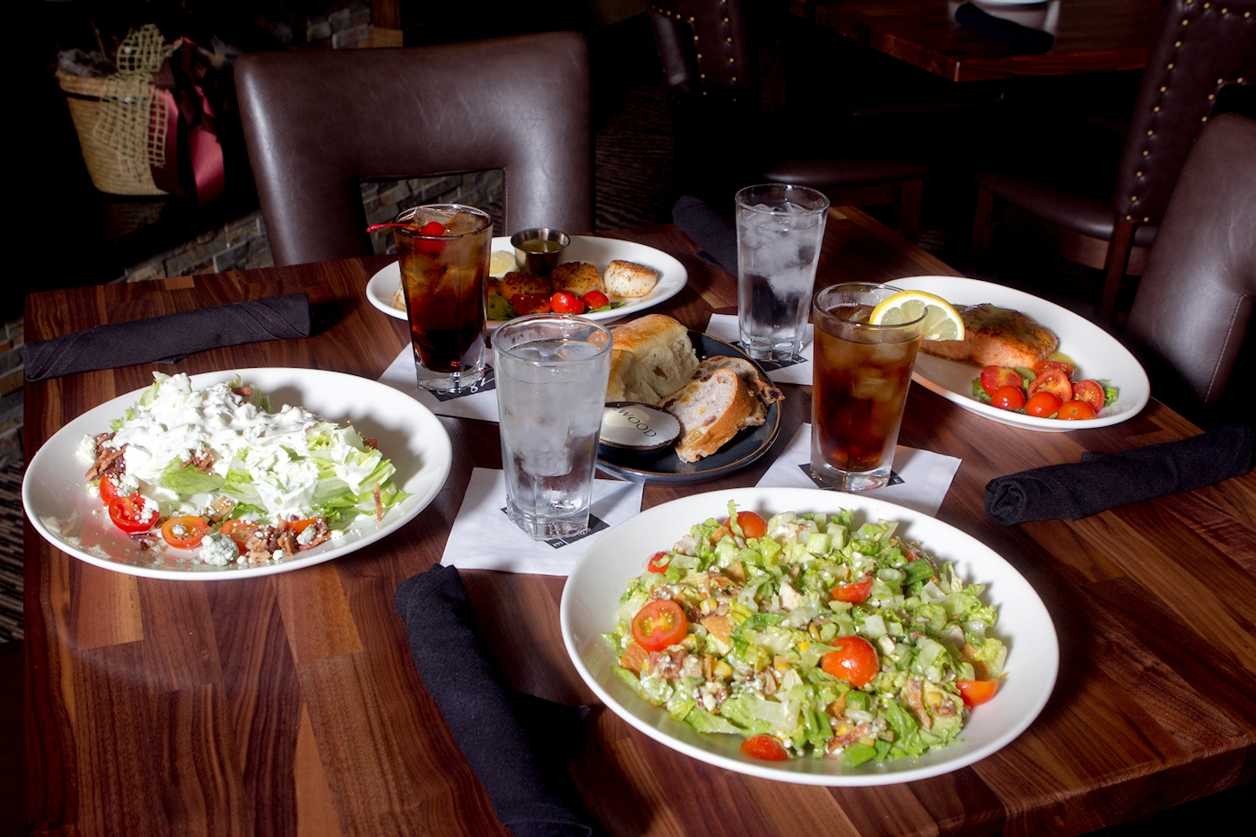 Try our unique salads for lunch today ellwood steak and for Salas lunchs